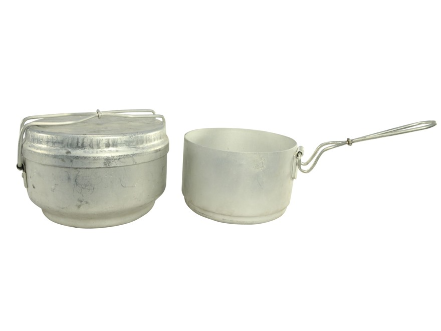 Military Surplus Czech 3 Piece Aluminum Mess Kit