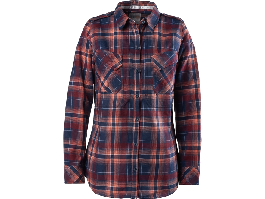 5.11 Women's Heartbreaker Flannel Button-Up Shirt Long Sleeve Polyester