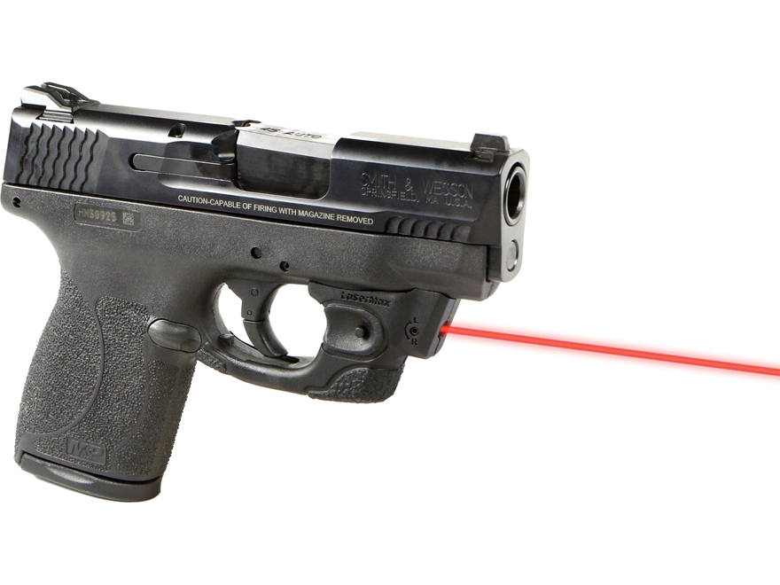 LaserMax Centerfire Red Laser Sight for S&W M&P Shield 45 Caliber Black