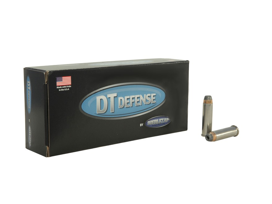 DoubleTap Ammunition 357 Magnum 125 Grain Semi-Jacketed Hollow Point Box of 20
