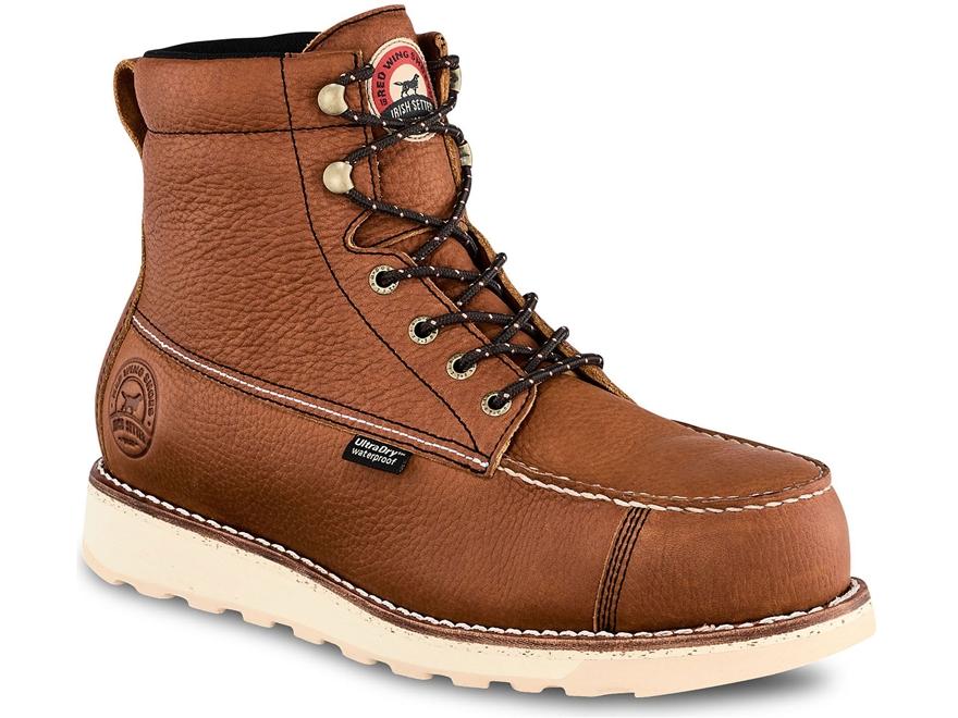 "Irish Setter Wingshooter ST 6"" Waterproof Non-Metallic Safety Toe Work Boots Men's"