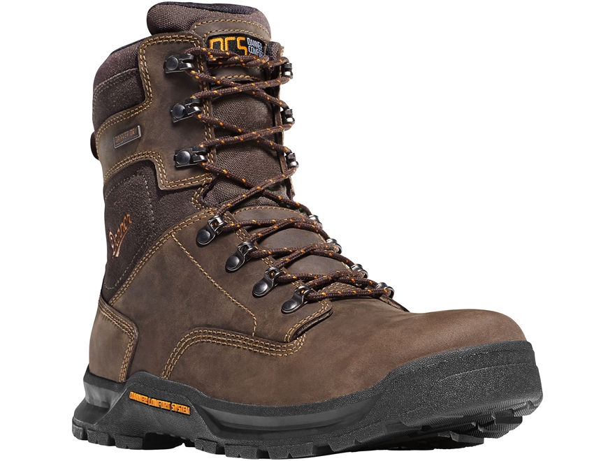 """Danner Crafter 8"""" Waterproof Uninsulated Work Boots Leather"""