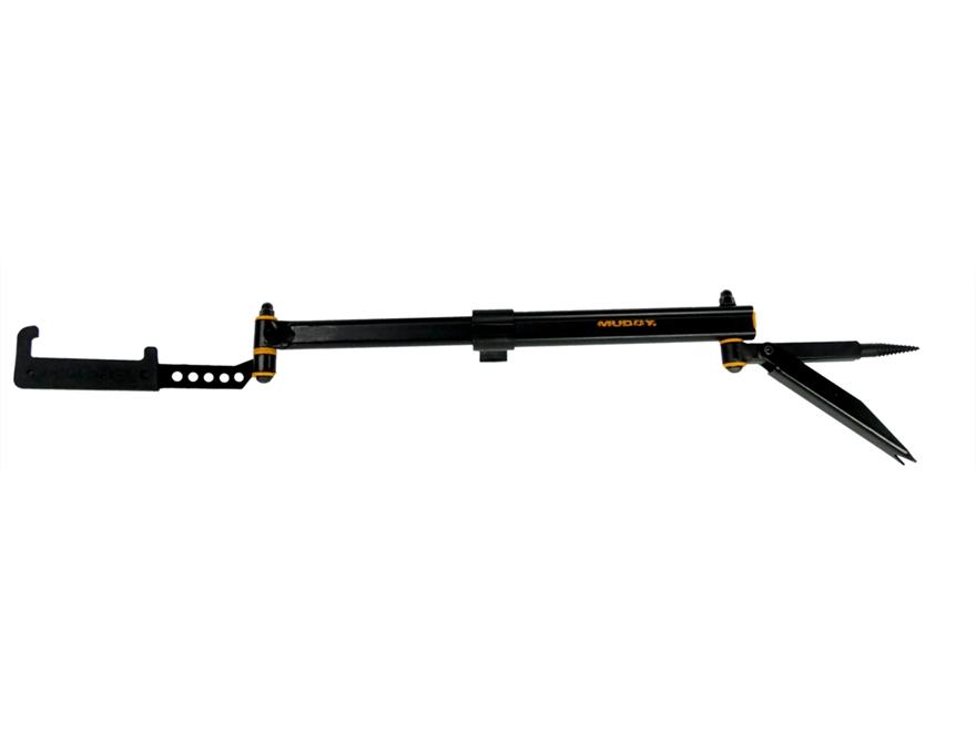 Muddy Outdoors Telescoping Multi-Hanger Bow Hanger Black