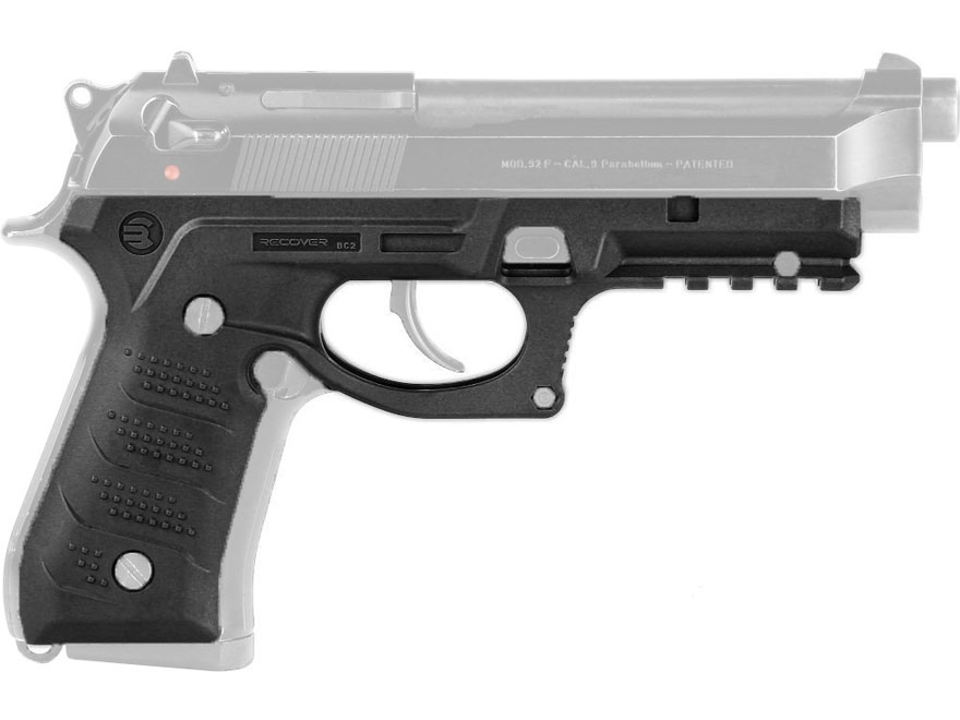 Recover Tactical BC2 Grip and Rail System Beretta 92, M9 Polymer