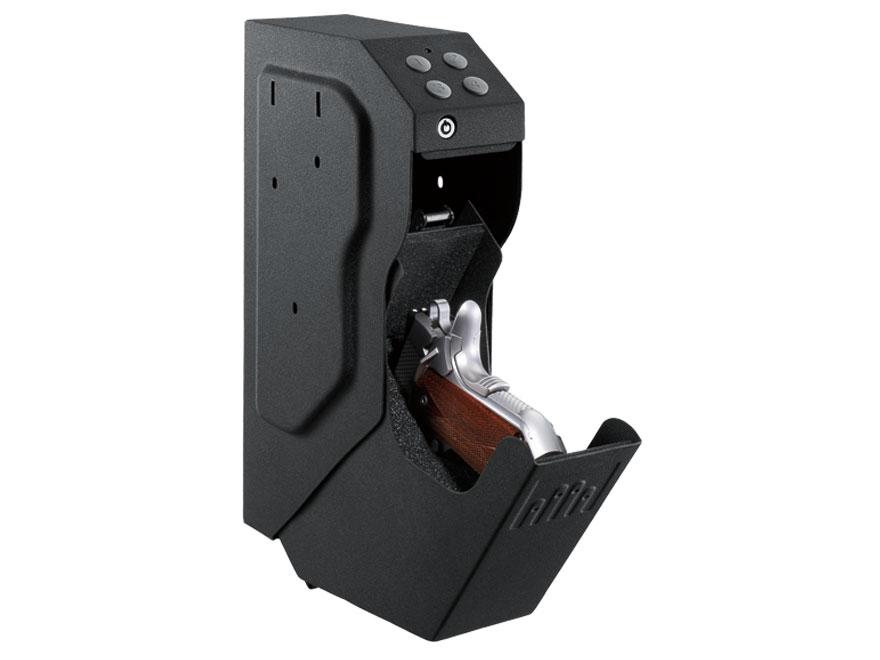 GunVault SpeedVault Personal Electronic Safe Black
