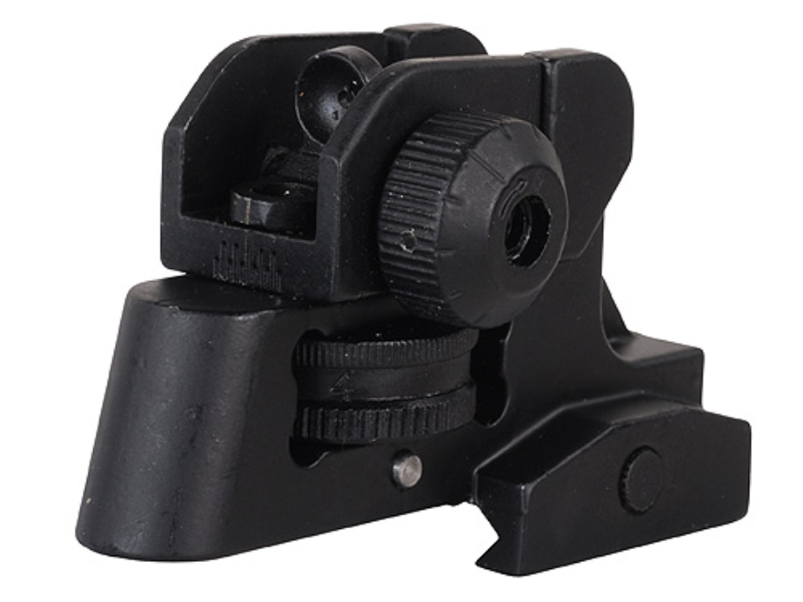 GMG Detachable Rear Sight A2-Style AR-15 Aluminum Matte