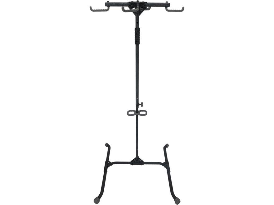 Hawk Quad-Hook Ground Blind Bow Hanger Steel Black