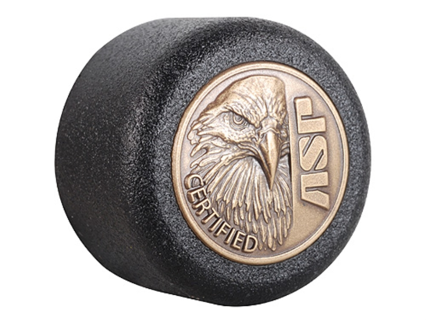 ASP Eagle Logo Baton Cap Certified Logo Cap 4140 Steel with Brass Emblem Black