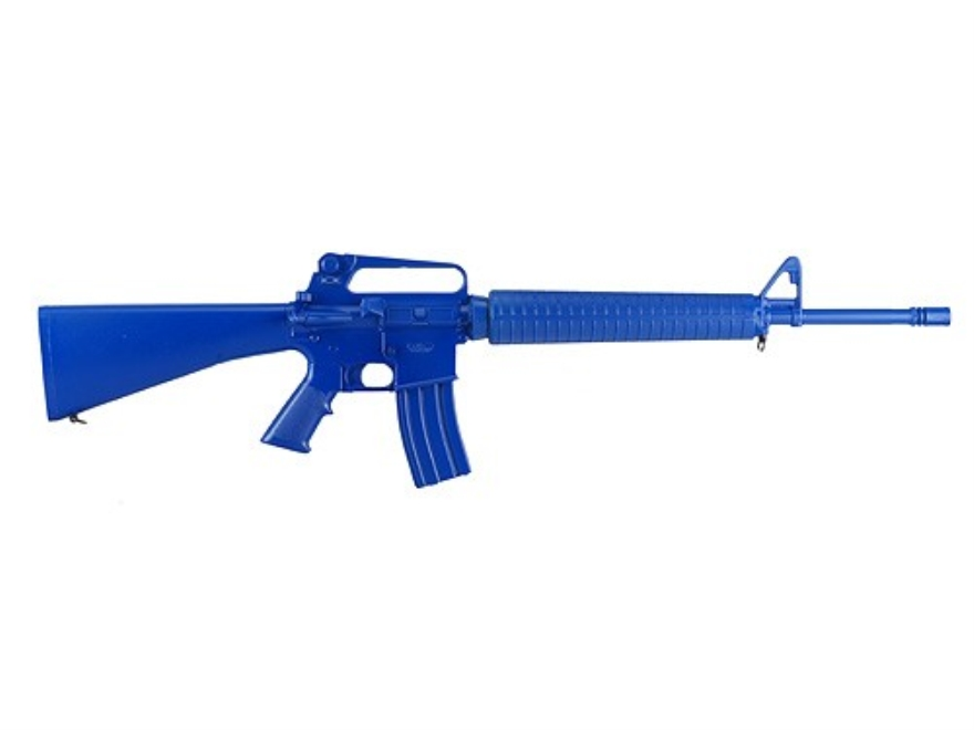 BlueGuns Firearm Simulator AR-15 A2 Polyurethane Blue