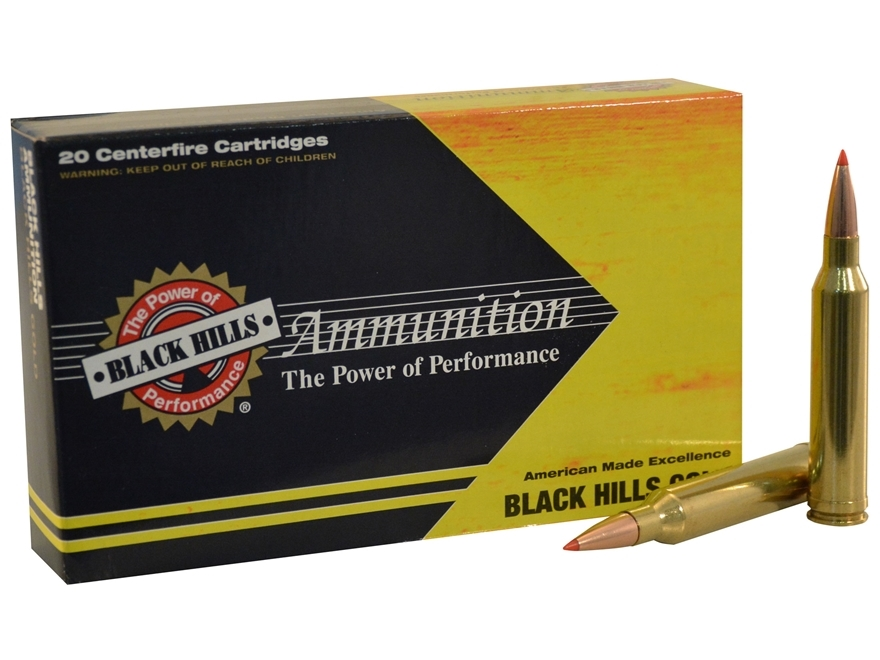 Black Hills Ammunition 300 Winchester Magnum 200 Grain Hornady ELD-X Box of 20