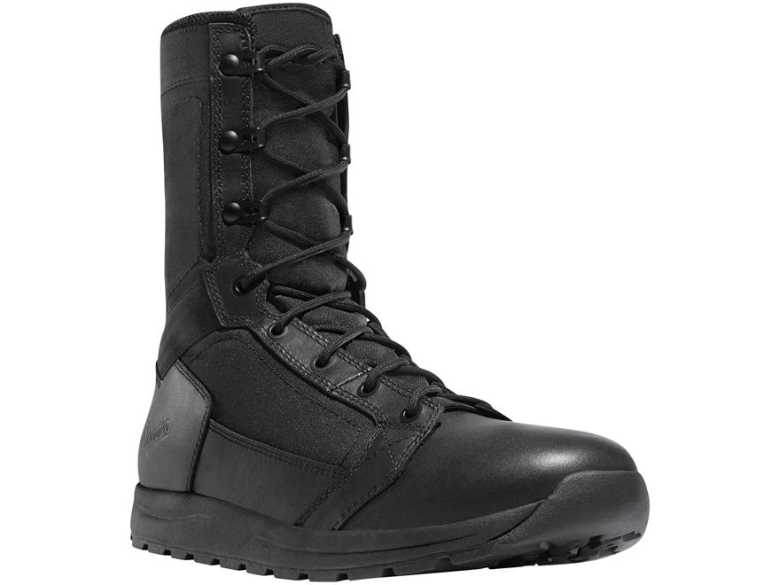 """Danner Tachyon 8"""" Polishable Toe Tactical Boots Leather Black Men's"""