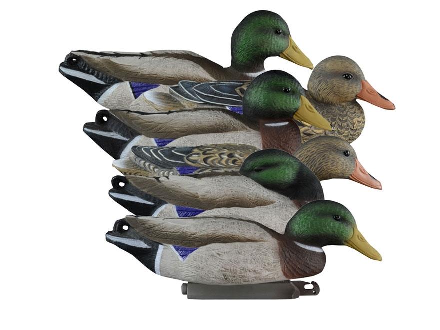 Higdon Full Size Mallard Duck Decoy Polymer Pack of 6