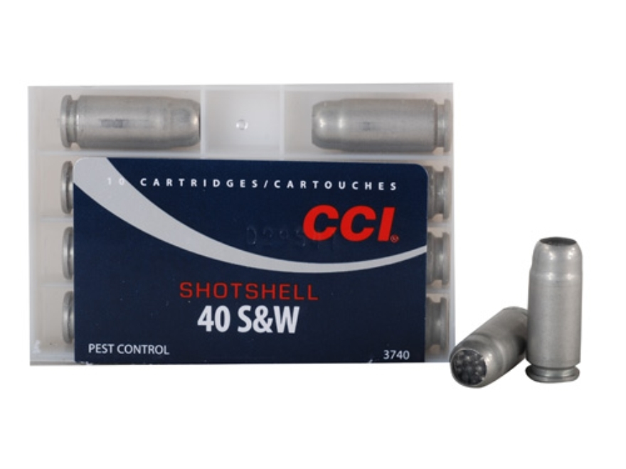 CCI Shotshell Ammunition 40 S&W 88 Grains #9 Shot