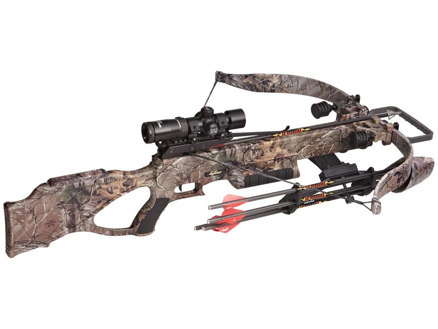 Excalibur Matrix 380 CRT Crossbow Package with Tact-Zone Illuminated Scope Realtree Xtr...