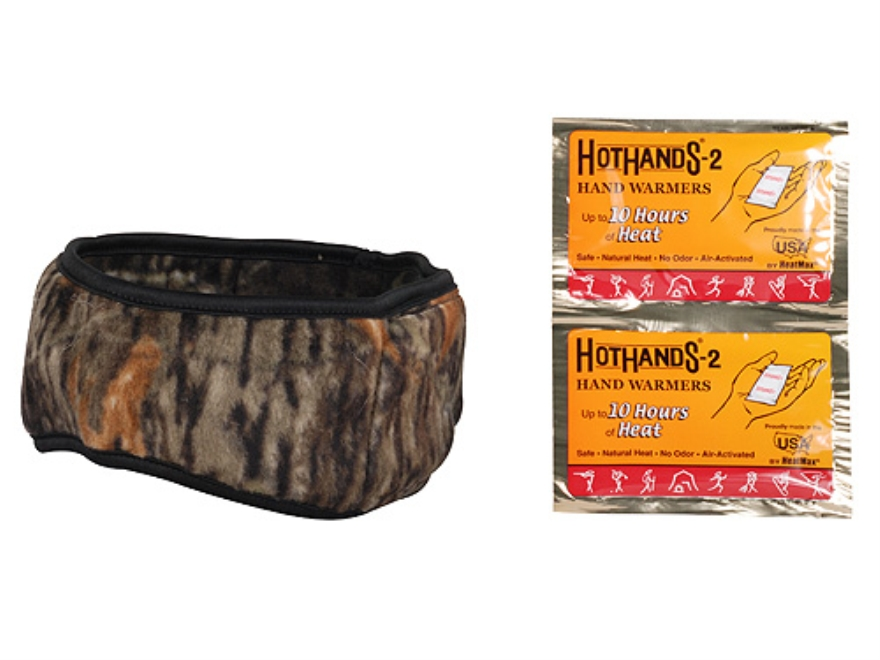HotHands Heated Headband Synthetic Blend Mossy Oak Break-Up Camo