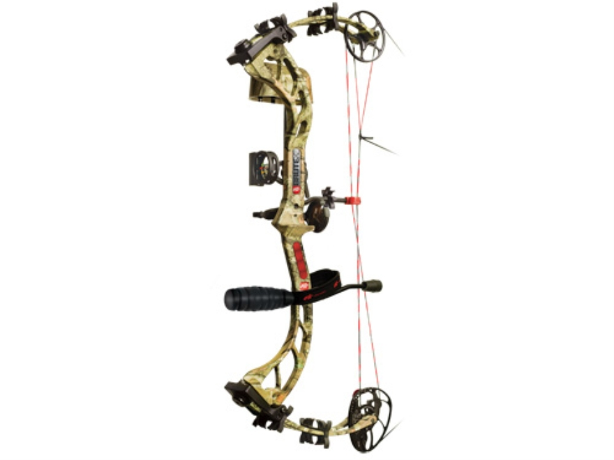 "PSE Brute X RTS Compound Bow Package Right Hand 60-70 lb. 25""-30"" Draw Length Mossy Oak..."