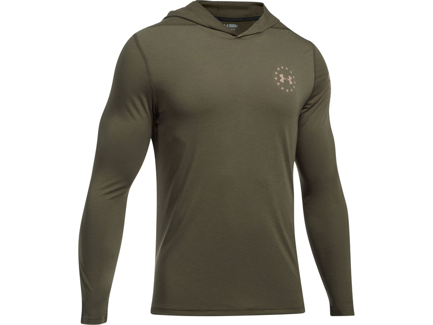 Under Armour Men's UA Freedom Threadborne Popover Shirt Long Sleeve Polyester