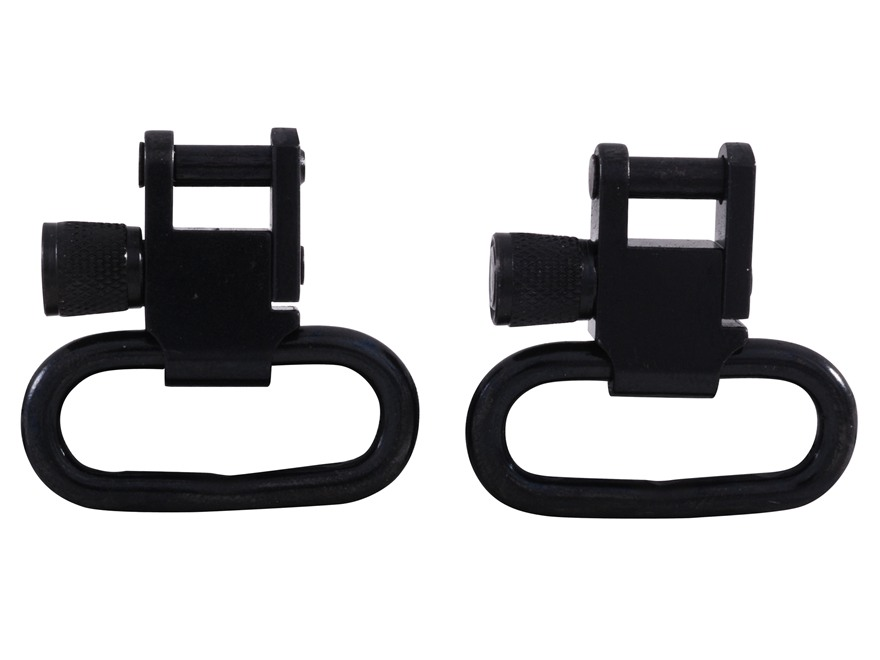 "GrovTec Sling Swivel Studs with 1"" Locking Swivels Set with Machine Screw Forend Steel ..."