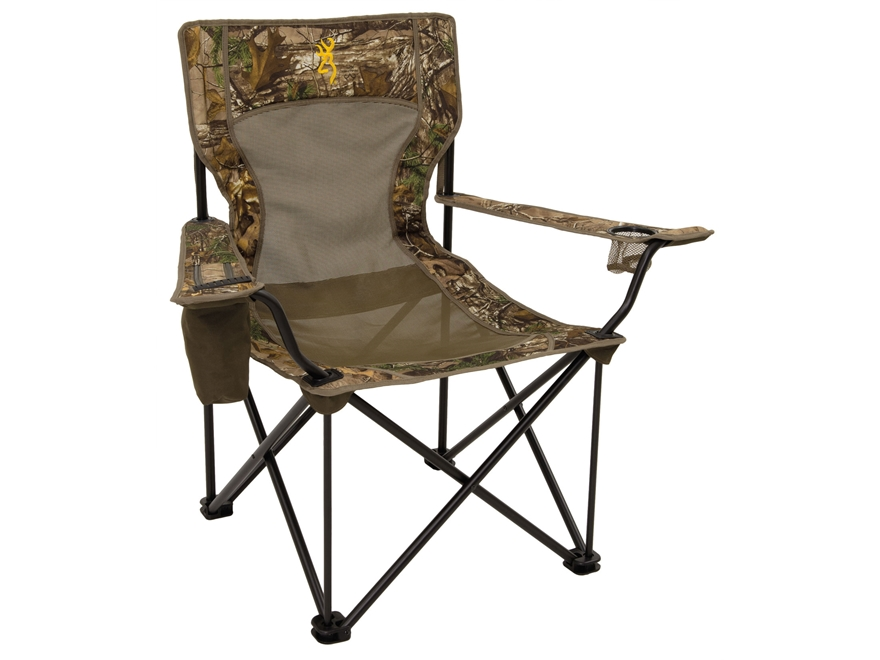 Browning Kodiak Folding Chair Steel Realtree Xtra Camo