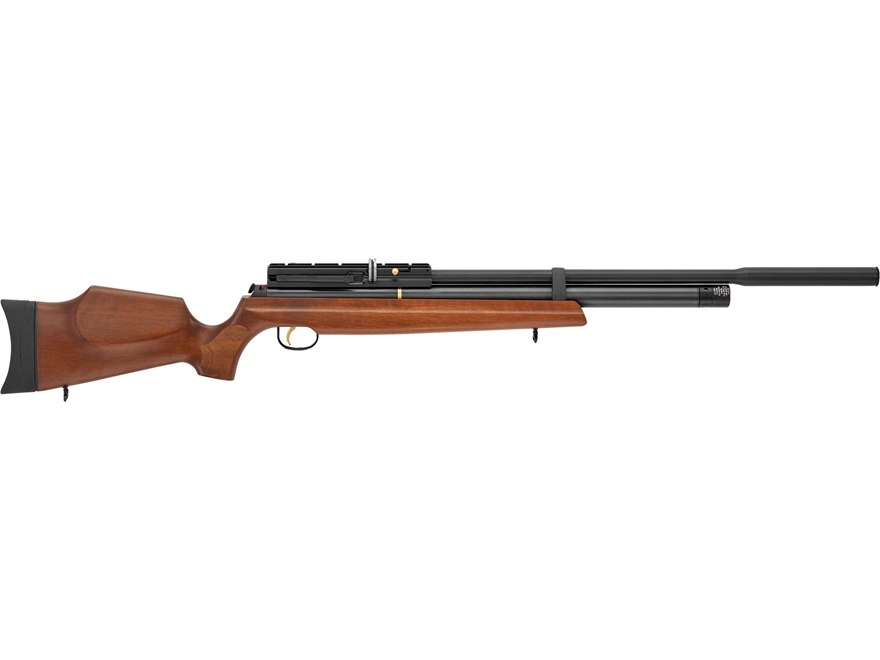 Hatsan AT44W-10 QE PCP Air Rifle Pellet Walnut Stock