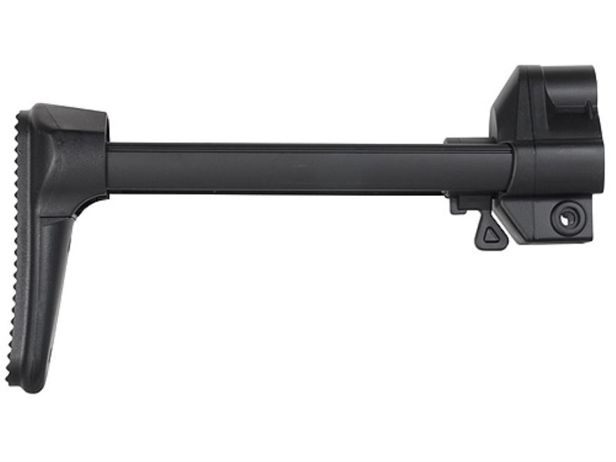 GSG Retractable MP5 Style Buttstock Assembly GSG-5, GSG-522 Carbine Polymer Black