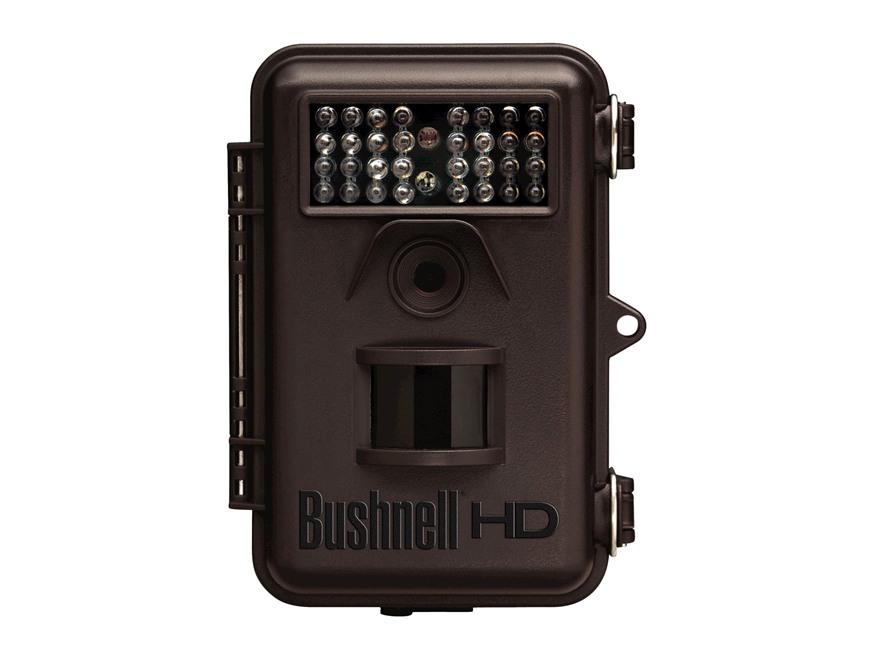 Bushnell Trophy Cam HD Hybrid Infrared Game Camera 8.0 Megapixel Brown
