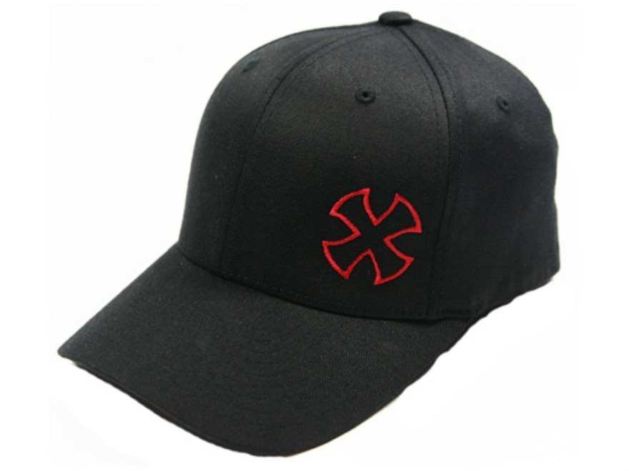 Noveske Branded Offset Logo Flexfit Hat Cotton Black S/M