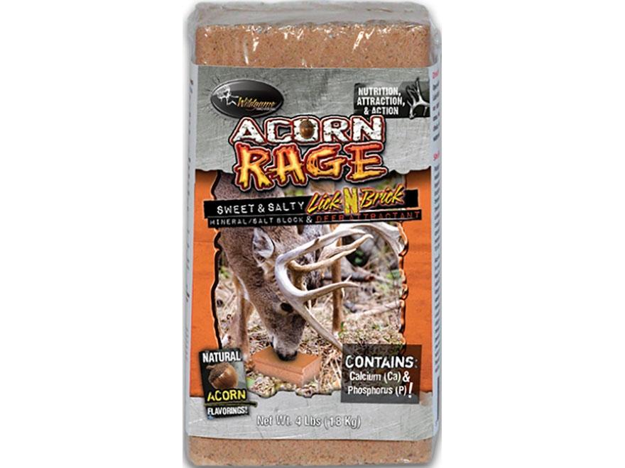 Wildgame Innovations Acorn Rage Drop-N-Block Deer Attractant Block 3lb