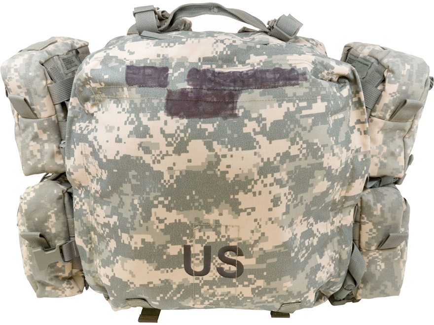 Military Surplus MOLLE II Medical Set Bag Grade 1 ACU Camo