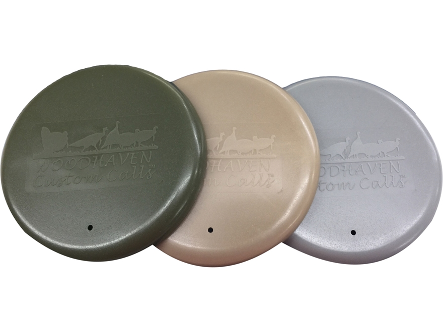 Woodhaven Surface Saver Pot Turkey Call Lid Polymer Pack of 3
