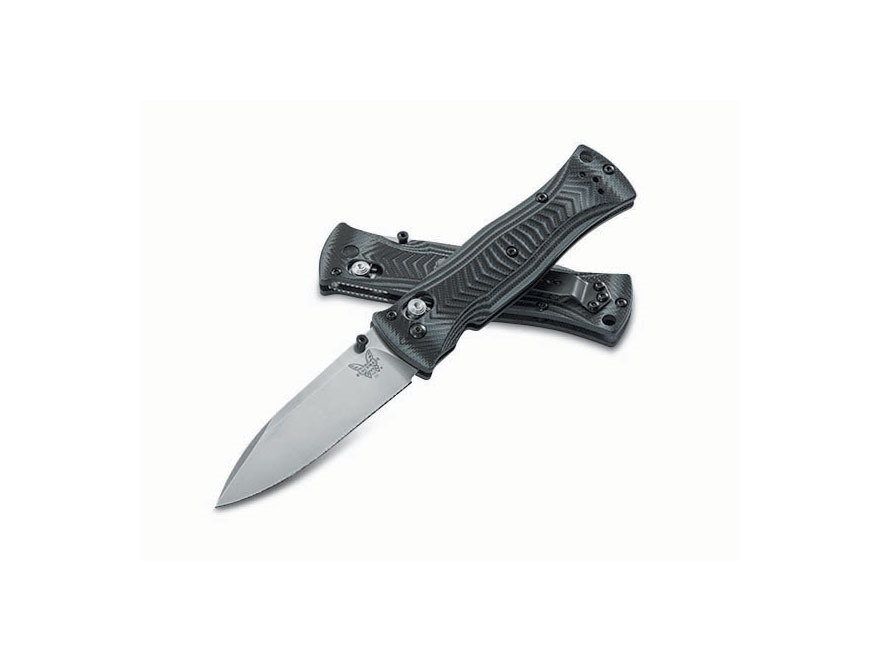 "Benchmade 531 Pardue Folding Knife 3.25""  Modified Drop Point Black 154CM Stainless Ste..."