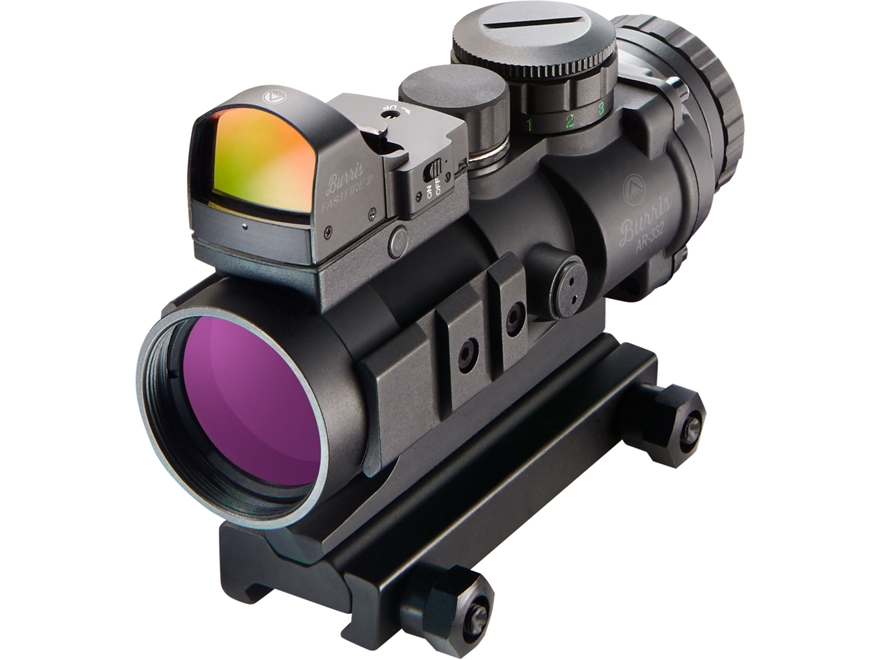 Burris AR-332 3x 32mm Prism Sight Ballistic CQ Reticle Matte with FastFire III Reflex R...