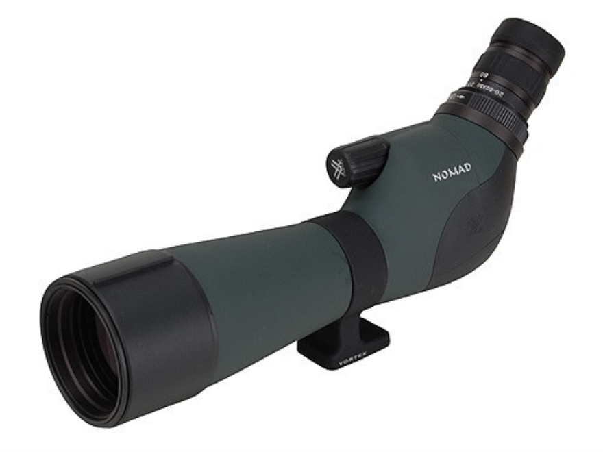 Vortex Optics Nomad Spotting Scope 20-60x 60mm Angled Eyepiece Armored Green