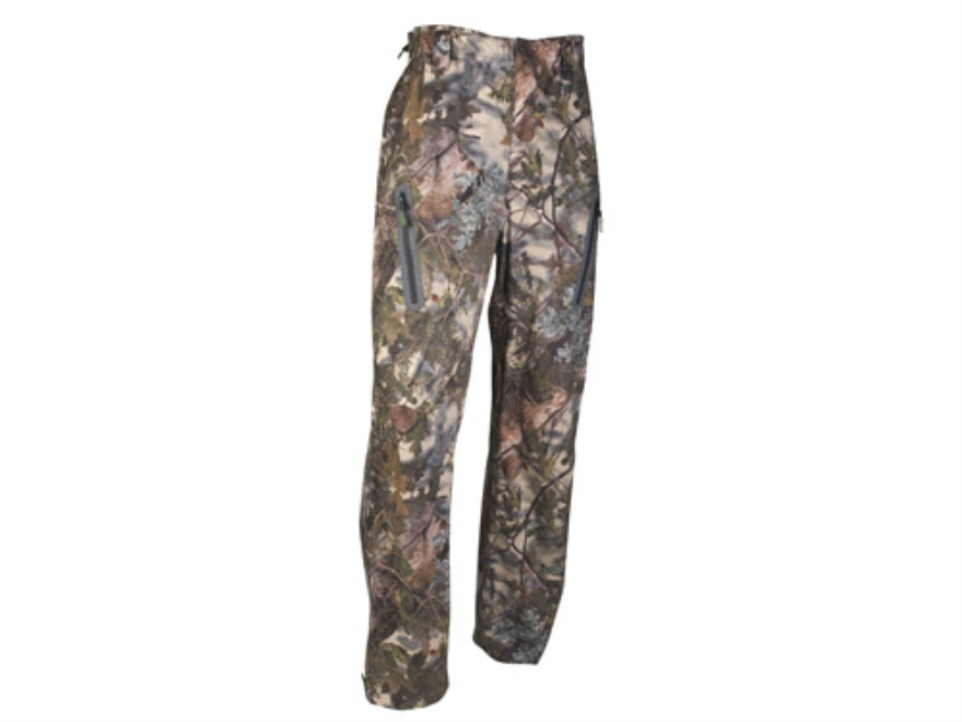 APX Men's L5 Cyclone Rain Pants Polyester King's Mountain Shadow Camo Large 38-40 Waist...