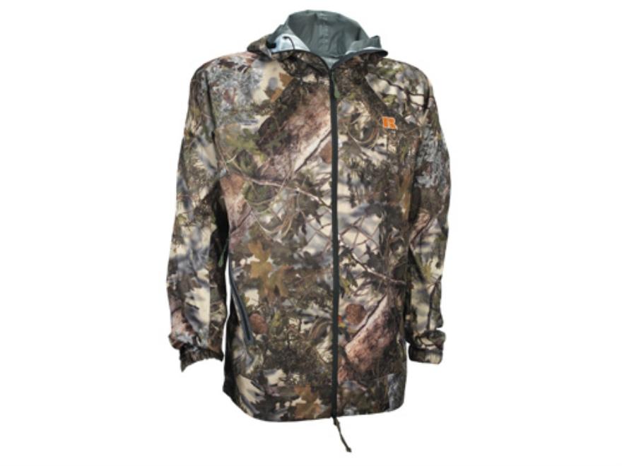 APX Men's L5 Cyclone Rain Jacket Polyester King's Mountain Shadow Camo 2XL 50-52