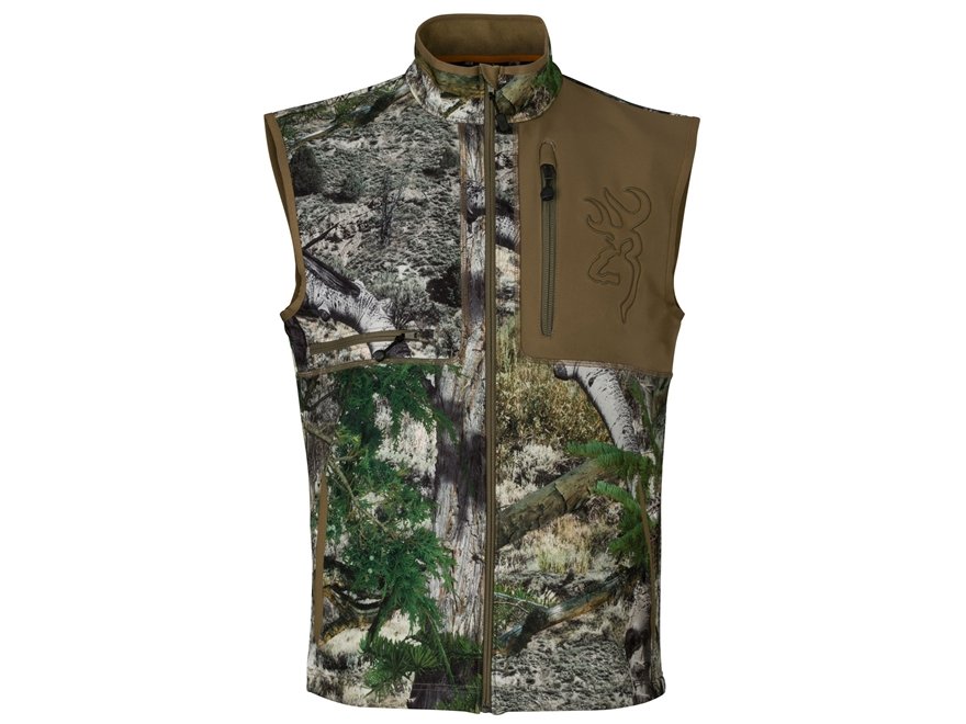 Browning Men's Hell's Canyon Mercury Scent Control Vest Polyester