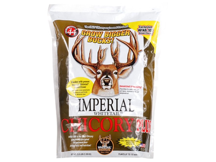 Whitetail Institute Chicory Plus Perennial Food Plot Seed 3.5 lb
