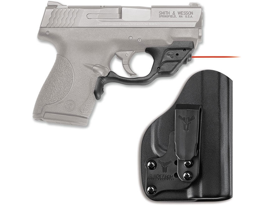Crimson Trace Laserguard Smith & Wesson Shield 9mm, 40 S&W Polymer Black