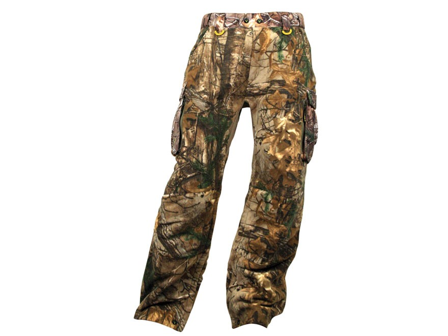 ScentBlocker Men's Scent Control Alpha Fleece Pants Polyester