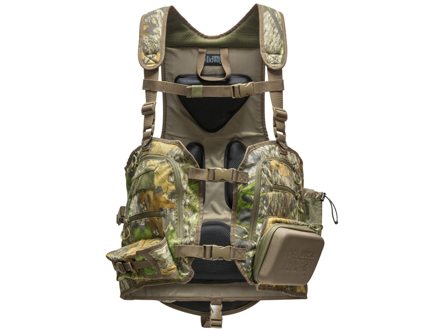 MidwayUSA Deluxe Turkey Vest Mossy Oak Obsession Camo