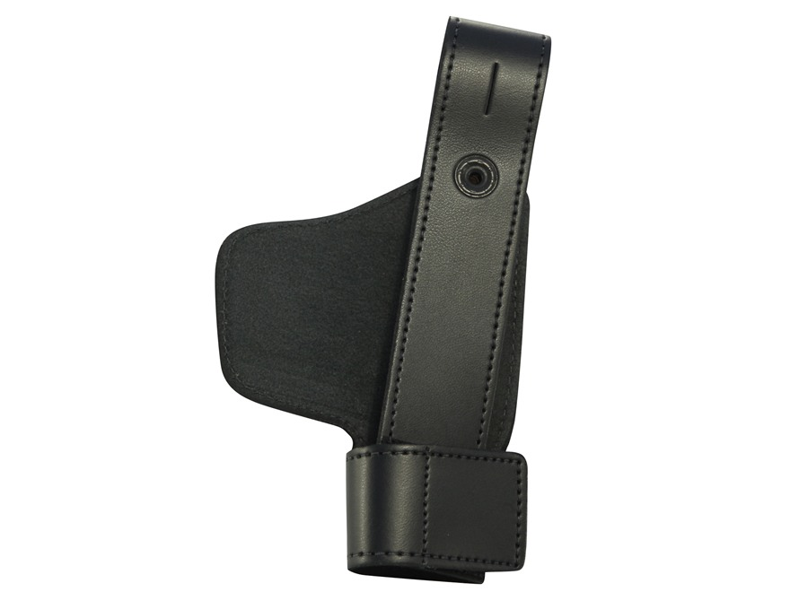 DeSantis Invisible Agent Inside the Waistband Holster Right Hand Leather Black