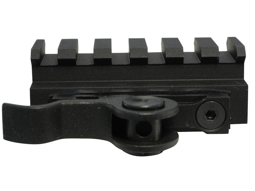 "AimShot Picatinny-Style Quick-Release Riser Mount 2 1/4"" Length 14mm Rise Aluminum Matte"