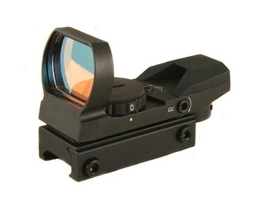 ADCO Mirage Solo Reflex Red Dot Sight 4-Pattern Reticle (3 MOA Dot, 10 MOA Dot, Bracket...