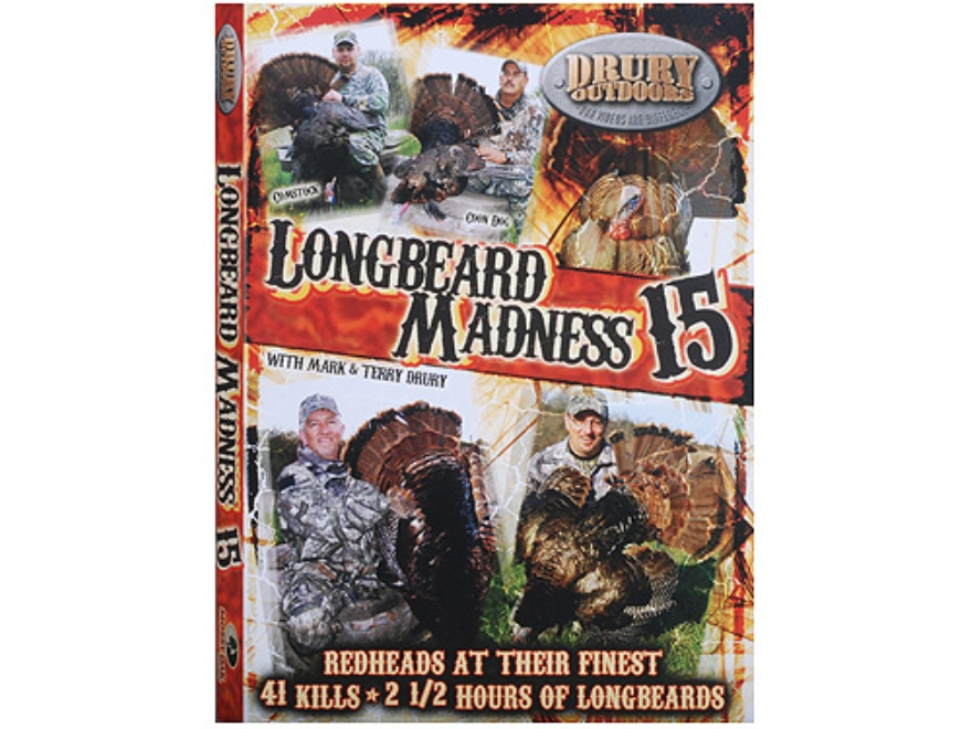 Drury Outdoors Longbeard Madness 15 Video DVD