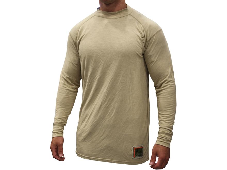 Military Surplus Silk Weight Base Layer Shirt