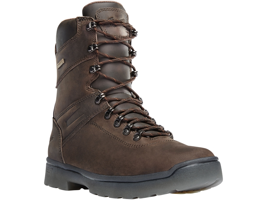 "Danner Ironsoft 8"" Waterproof Non-Metallic Toe Work Boots Leather"