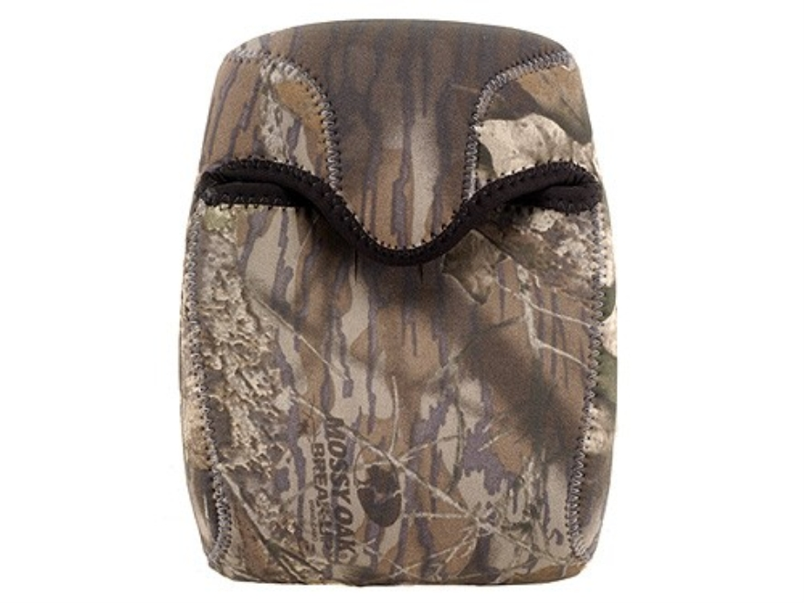 CrossTac Binocular Cover Large Porro Prism Neoprene Reversible Black, Mossy Oak Break-U...