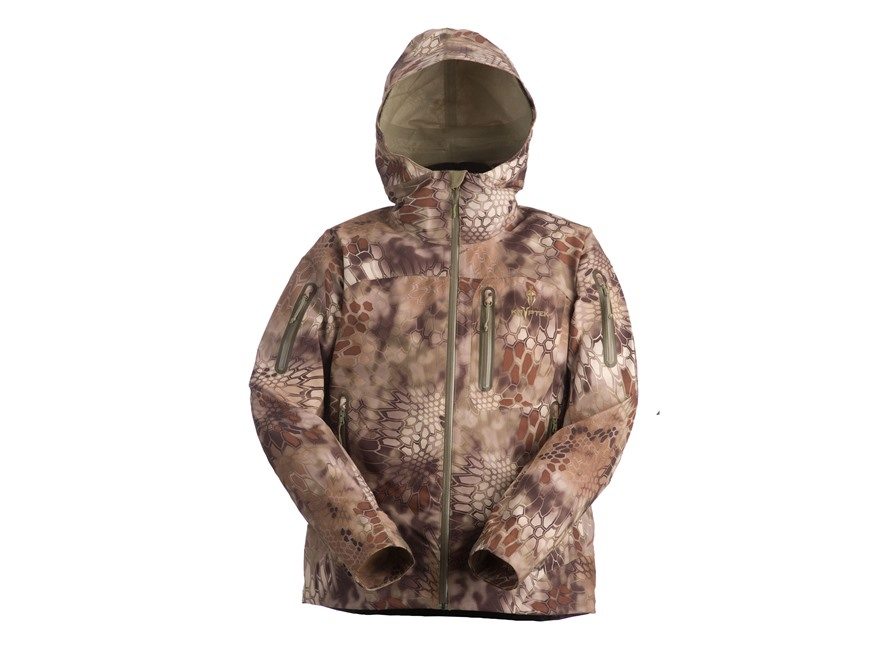 Kryptek Men's Koldo Blockade Rain Jacket Synthetic Blend