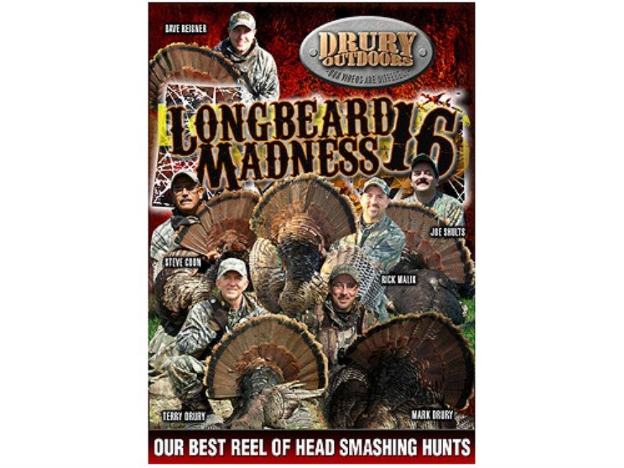 Drury Outdoors Longbeard Madness 16 Video DVD