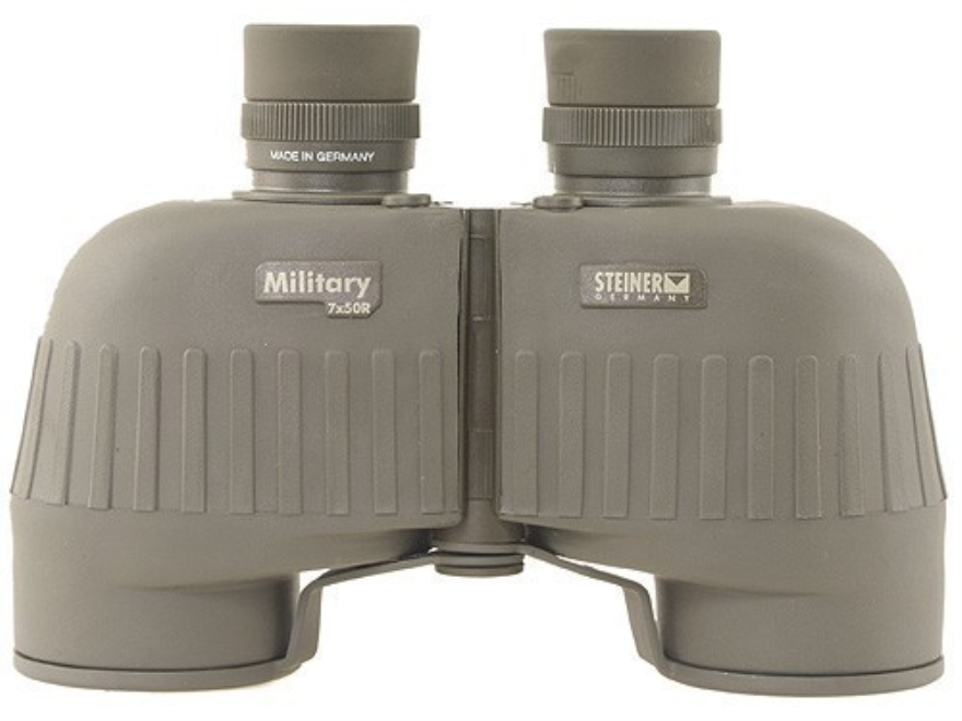 Steiner Military R Tactical Binocular 7x 50mm with U.S. Army M-22 Reticle Rubber Armore...